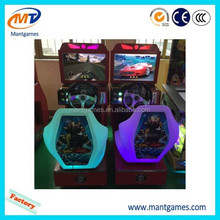 Children recreational machines game machine free play games car racing for game center