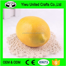 Manufacture specialty High simulation fruit/artificial fruit lemon home decoration