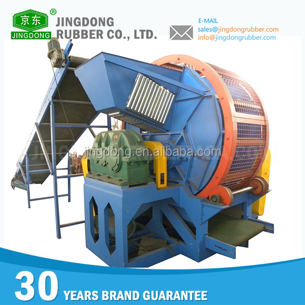 High efficiency rubber recycling machine crusher