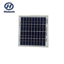 Hot sale and low price poly solar panel 5w