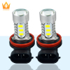 White/Ice blue/Amber/Pink 7.5W 15 SMD 5730 SMD Fog Head Tail Driving DC 12V H11 LED High Lumen Car Fog Light