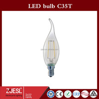 NEW Edition C35 2W-T Pull tail LED bulb lighting e14 led lantern