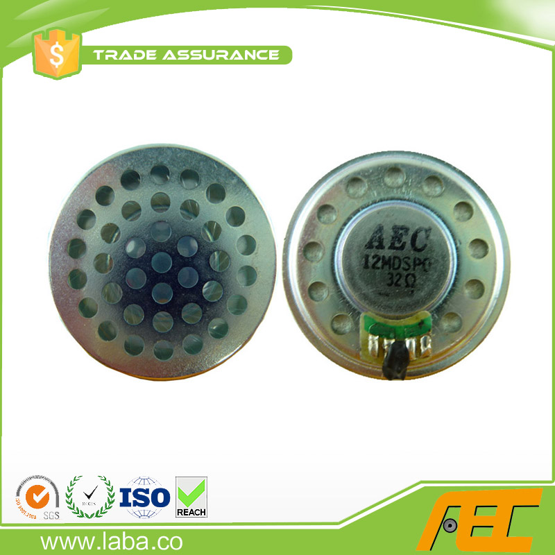 36MM 0.5W 32ohm Speaker For Earphone