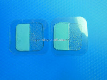 32X32mm conductive adhesive gel pads hot item for 2014 durable tens electrode pad, electrode pad supplier, exporters,