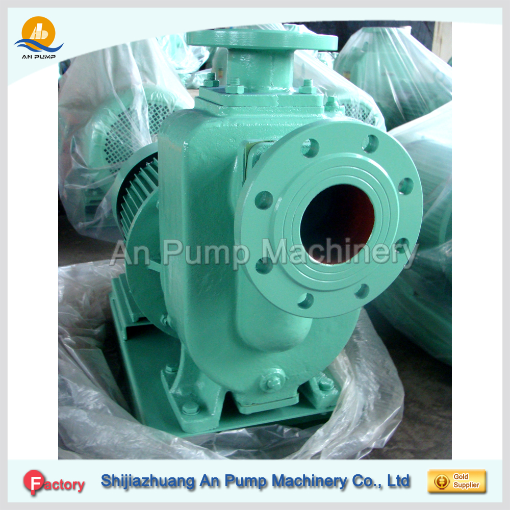 Self priming hydraulic dewatering water pressure pump