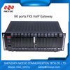 New sip voip gateway compatible with most ip phone 96 fxs/fxo