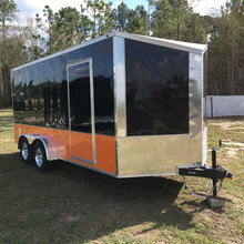 fiberglass enclosed trailers cargo box trailer