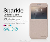 NILLKIN Sparkle Phone Leather Cases For Samsung Galaxy S6