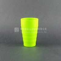 Green & blue plastic cup,Brush my teeth cup,Disposable cup with your logo