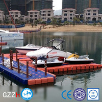 skid resistant surface jetski floating dock factory price