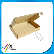 Cheap Corrugated cardboard t shirt packaging box with blister insert