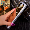 Paypal accept mirror combo shell for phone for Galaxy Note 3 transparent soft silicon 0.3mm electroplate mirror tpu case