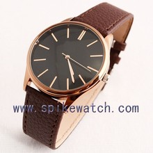 Accept custom logo waterproof hot selling unisex watches in 2014