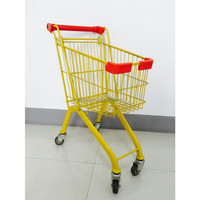 mini colorful high quality supermarket cart for children