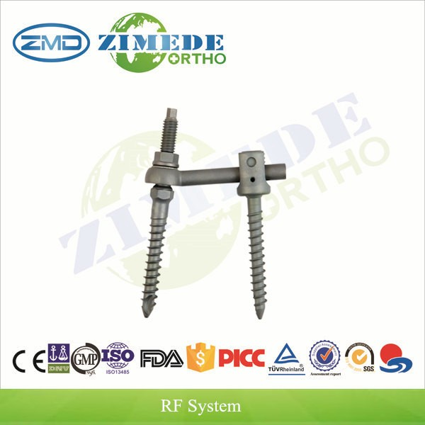 RF U screw Spinal Fixation price of titanium spinal surgical screw
