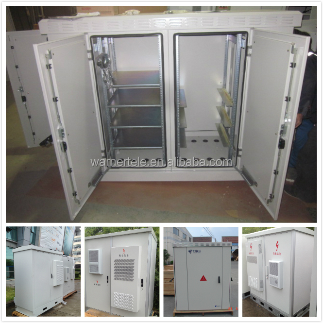 W-TEL MSAN IP66 outdoor telecom industrial equipment electrical control rack battery cabinet enclosure