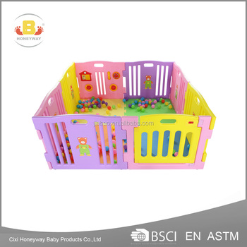 ASTM passed chinese factory wholesale baby playard with good quality