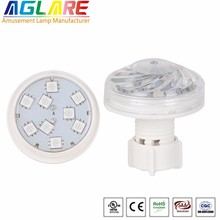 2018 Best selling AC24V Auto rgb led light bulbs for amusement rides