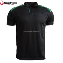 Fast shipment 100% custom design logo embroidered moisture wicking 100 polyester polo shirts dry fit for men or women wholesale
