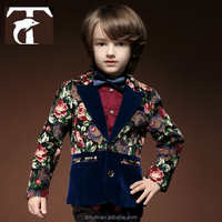 Quality bespoke three piece suit for children gift for boys boys fashion dress
