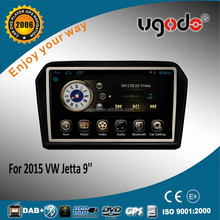 9 inch high quality android car multimedia system for vw Jetta 2015