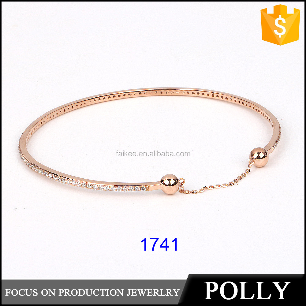 china factory wholesale 925 sterling silver diamond and gemstone bracelet