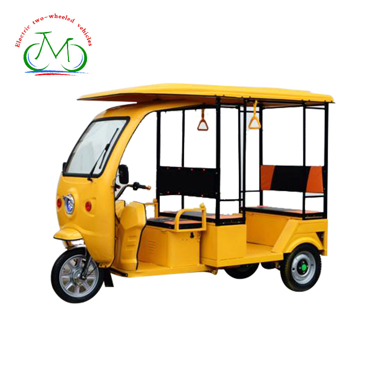 New arrival passenger enclosed cabin 3 wheel electric motorcycle