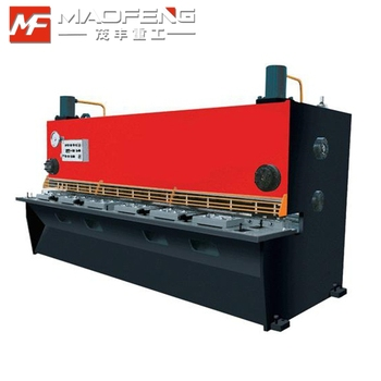 guillotine sheet metal hydraulic shearing machine price