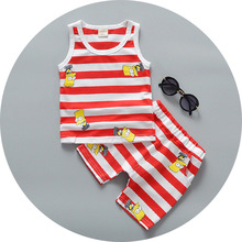 C73011A Baby wear 2pcs set casual kids summer clothing sets