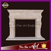 Simple Design Western Style Decoration Marble Fireplace