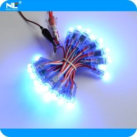 IP68 12mm DC5V WS2801 rgb led string 50 node a string