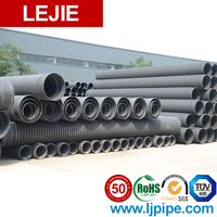 Flexible plastic hdpe corrugated pipe for sale