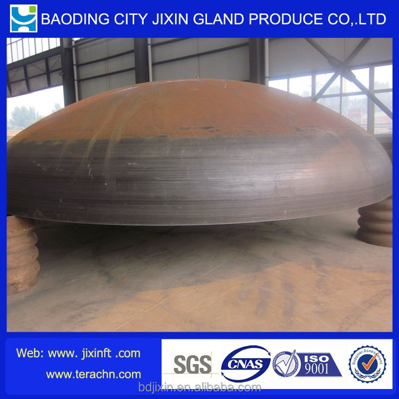 Forged plain steel semi elliptical dished heads for boiler parts