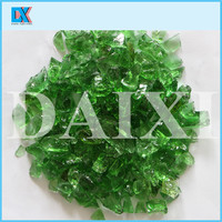 Wholesale colored recycled glass chips