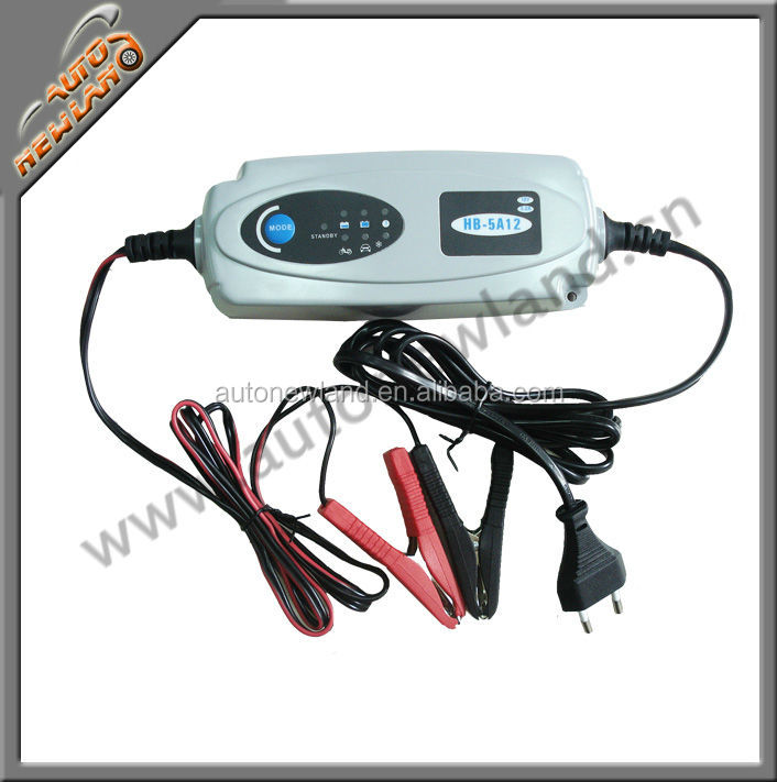 12V 4A battery charger smart auto battery charger 12V lead-acid batteries