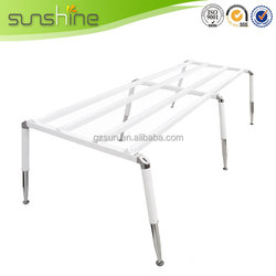 Durable Easy Assembly Steel Metal Table Frames Wooden Furniture Frames For Upholstery