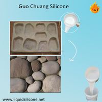 condensation liquid rtv2 silicone rubber for rock fake