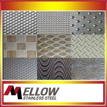 Mellow High Quality Embossed Stainless Steel Sheets For Stainless with Factory
