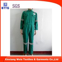 manufacture green FR flame retardant heat retardant clothes workwear coverall