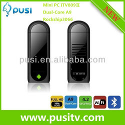 MK809 II android tv stick mini pc Bluetooth HDMI tv Dongle Support 3G Android 4.2 Dual Core