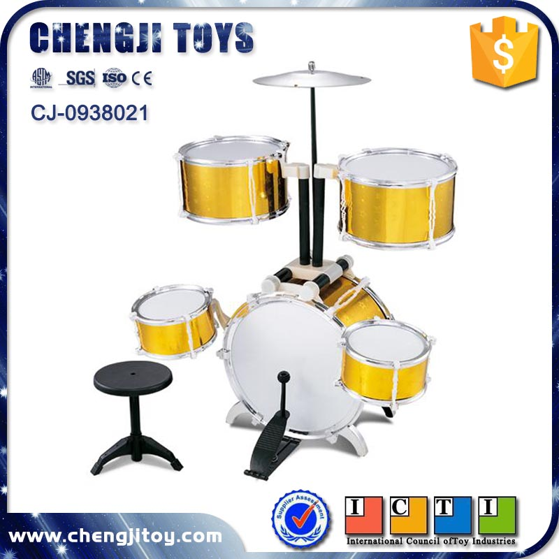 Musical toy rock band drumkit plastic jazz drum set prices