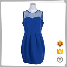 wholesale alibaba blue fat size sexy women party dress