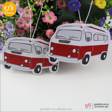 custom design car fragrance paper card / car fragrance / car vent stick air freshener for promotion gift