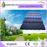 decorative metal stone coated steel roofing sheet Metal roof tiles