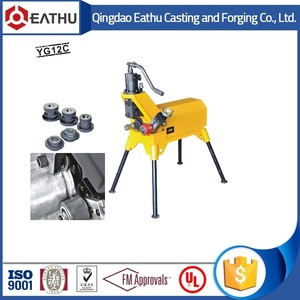 "2""-12"" automatic pipe roll grooving machine"