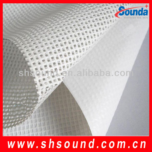Digital Printable Outdoor Advertising Post Coated Perforate PVC Mesh Banner