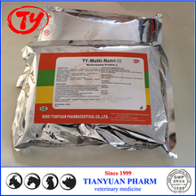 Broiler feed additive broiler growth promoters veterinary vitamin premix broiler fatten medicine