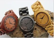 Men's Watch Eco-friendly Natural Wood Watch Hot Selling original Wooden Watch Custom Logo