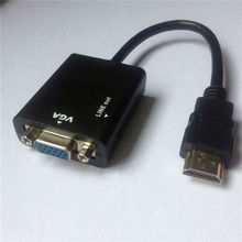 Whosesale HDMI to VGA Cable Adapter AV Converter with Audio Male to Female