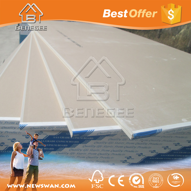 China Prices Gypsum Board / Drywall / Plasterboard